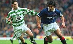 Gennaro Gattuso, Rangers FC 34 apps, 3 goals) in the Glasgow derby, Rangers vs Celtic Rangers Vs Celtic, Gennaro Gattuso, Old Firm, Rangers Fc, Celtic Fc, Glasgow, Derby, Apps, Football