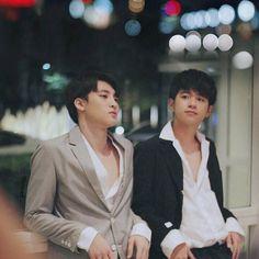 Mean x Plan ♡(*ฅ́ˇฅ̀*)[ ] Wish Meaning, Taiwan Drama, Love Boyfriend, Handsome Faces, Thai Drama, Hot Actors, A Whole New World, Cute Gay, Drama Series