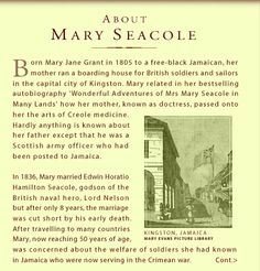 why is mary seacole famous