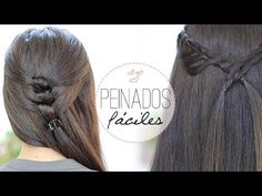 Peinados fáciles y bonitos - http://mujerdeluxe.com/peinados-faciles-y-bonitos-12261.html