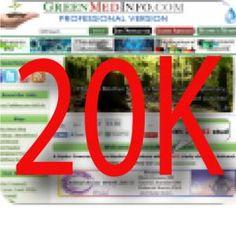 GreenMedInfo: 20,000 Studies In Support Of Natural Medicine