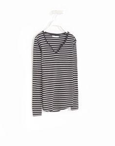 T-SHIRT RISCAS - Tops e T-shirts - Woman - | Lefties Portugal