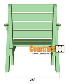 lawn chair plans back overview chairs plans Lawn Chair Plans - Folding Picnic Table Plans, Wooden Lawn Chairs, Wood Bench Plans, 2x4 Bench, Fire Pit Chairs, Outdoor Furniture Plans, Diy Furniture, Garden Chairs, Diy Chair