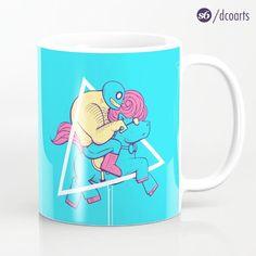 Cool mugs by desCOLORido (@dcoarts) | Twitter   Get it: http://society6.com/dcoarts   #illustration #cool #art #dcoarts #design #designer #Society6 #creative #mug #coffeemug #mugs #pony | Luchador ilustración | Luchador illustration