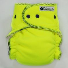 Cloth Diaper Made to Order Overnight Extended-Use Wind Pro AI2 - Neon Yellow…