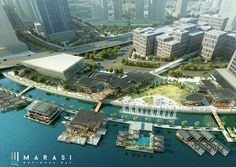 Marasi Business Bay by Dubai Properties offers a vibrant lifestyle to boost the tourism industry. Marasi Business Bay composed of the Yacht club, the Park and the Pier. This Dubai's major future landmark offers leisure facilities which include floating restaurants offering world class cuisines, Dubai's first water homes, breathtaking views of the Dubai Canal and dynamic lifestyle.