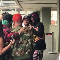 """daily-jared: """"""""Jared Leto arrives at the Tom Jobim international airport in Rio de Janeiro, Brazil, to participate with his band Thirty Seconds to Mars in Rock in Rio event. (Sept. 24, 2017 - Video..."""
