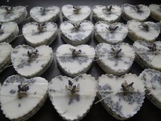25 Lavender Premium beeswax melting tarts by TheMontanaHomestead, $112.50