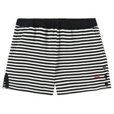 Sonia Rykiel Girls Black & White Striped Shorts   New Collection
