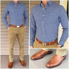 """Classic Casual Style 👌🏼👌🏼 If you could put a picture 📸next to """"casual style"""" in the dictionary 📘, this outfit might be the one you'd… Formal Men Outfit, Semi Formal Outfits, Moda Formal, Mein Style, Stylish Mens Outfits, Herren Outfit, Pinterest Fashion, Business Casual Outfits, Men Style Tips"""
