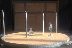 Set design models by Robert Innes Hopkins | http://www.blackpoolgrand.co.uk/shows/performance/boy-in-striped-pyjamas |