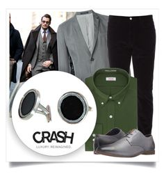 """SHOP - CRASH Jewelry"" by crashjewelry on Polyvore featuring Emporio Armani, Gucci, Izod and Ben Sherman"