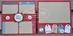 Stampsalot.net » Blog Archive » The Open Sea Scrapbook Pages Stampin' Up!