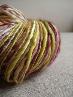 Handspun Cashmere and silk yarn