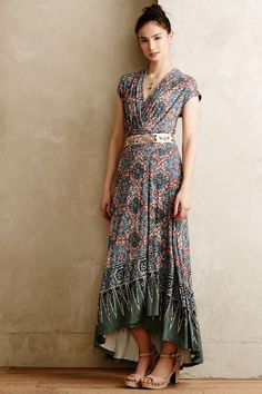 Desert Star Maxi Dress - #anthrofave