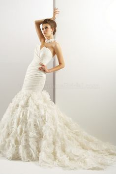 T440 / Wedding Dresses / Jasmine Couture Collection / Available Colours : Ivory, White