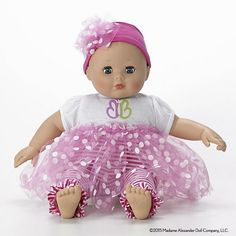 Alexander Doll Babble Baby Little Sister Play Doll