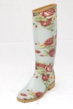 brown floral rain boots | Ensemble | Pinterest | Shops, Hunters ...