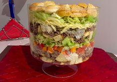 Sałatka Big Mac - Blog z apetytem Big Mac, Hamburger, Cabbage, Salads, Food And Drink, Mexican, Vegetables, Blog, Ethnic Recipes