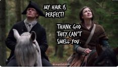Outlander Funny, Outlander Quotes, Sam Heughan Outlander, Thank God, Great Movies, Going Crazy, Movie Tv, Humor, Film