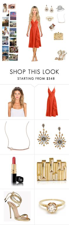 """""""Fourth of July- Fire Works"""" by barrybaumbiz ❤ liked on Polyvore featuring Lelet NY, Trina Turk, Harry Winston, Jacquie Aiche, Carole Shashona, Ultimate, Chanel, The Beach People, Rauwolf and Dsquared2"""