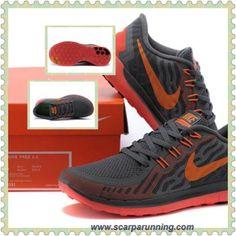 timeless design 3354a 149dd siti scarpe 2015 Nike Free 5.0 Donna Carbon Grigio   Fluorescent Rosso  8091010-329 scarpe
