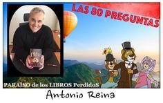 Somos Vanessa, Cris y Lali, tres adictas a la lectura y las administradoras del blog Paraíso de los Libros Perdidos. Hoy tenemos el honor de entrevistar a: Antonio Reina Nací en Córdoba (SP) en 196…