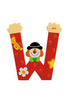 Letter W Clown