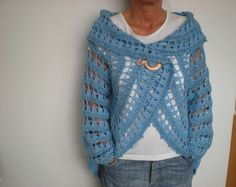 EmmHouse: Another circular cardigan – free crochet pattern