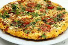 Omelett med cottage cheese