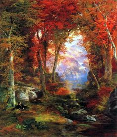 19th century American Paintings: Thomas Moran