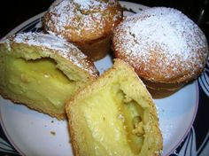 This is pastacciotti--my absolutely most favorite Italian pastry on the planet. My grandpa always had them when we visited (I liked the chocolate filled ones or the sweet ricotta)....a pastry chef at Roma made them for me on order but I think he passed on. I've been searching for a recipe for years!! Cannot wait.
