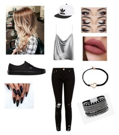 """Untitled #264"" by treading-waters ❤ liked on Polyvore featuring Vans, adidas Originals, Alex and Ani and White House Black Market"