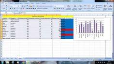 Aula 5 de Excel - Criando uma planilha de CONTROLE DE ESTOQUE