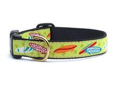 Surfboards Dog Collar