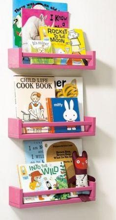 Ikea kruidenrekje als boekenplankje