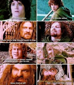 Character development in The Lord of the Rings - I need to do one for The Hobbit! <3