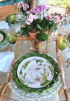 Lovely Spring Tablesetting ~