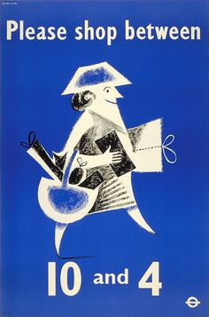 #Vintage #Poster of The London Underground