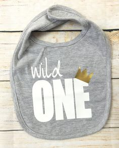 Wild One Bib / Where the wild things are by OllieandPenny on Etsy