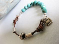 Rustic Turquoise n Leather