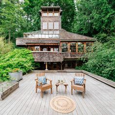 Zillow's 2017 House of the Year. CBBain Bainbridge Island Broker Cheryl Mauer represented the Buyer! Zillow Homes, Hill Interiors, New Orleans Homes, Bainbridge Island, Resort Style, Home Photo, Coastal Living, House Tours, Future House