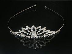 Wedding Headband Bridal Tiara Rhinestone Headband Ideal for Bridal, Pageants, Proms, Christmas Gift H8