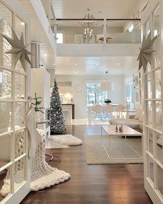 Are you ready for Christmas inspiration? Take a look at our fabulous Christmas tree and Christmas decoration ideas. These fabulous Christmas ideas will immediately attract you. Dream House Interior, Dream Home Design, Home Interior Design, Interior Decorating, Ikea Interior, Kitchen Interior, Living Room Designs, Living Room Decor, Home Fashion