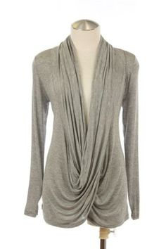 Drape Top Gray Drape Top Available in assorted colors on website. www.thecherryontopqc.storenvy.com