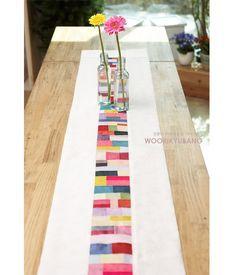 Naver blog: zenana crafts - Runner made angaekkot gapsa