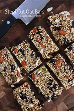 nutritiously nutty bars