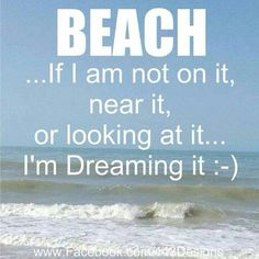 Beach time... so very true i woke up this morning with a smile..i had been at the beach swimming with dolphins. www.facebook.com/windsurfyoga