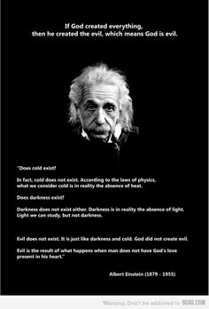 that Einstein, he seems smart...
