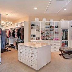 My dream walk in closet!!!